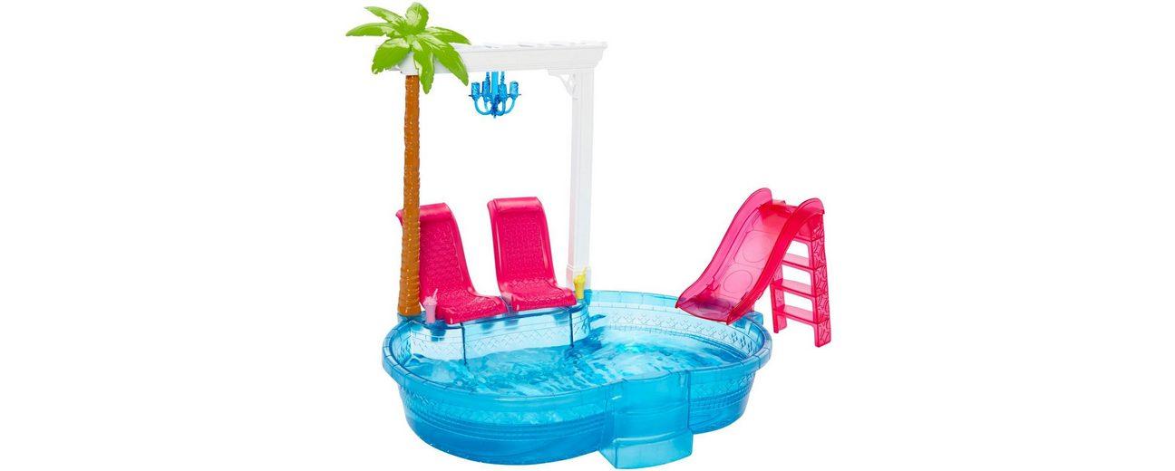 Mattel Puppen Schwimmbecken, »Barbie Glam Pool!«