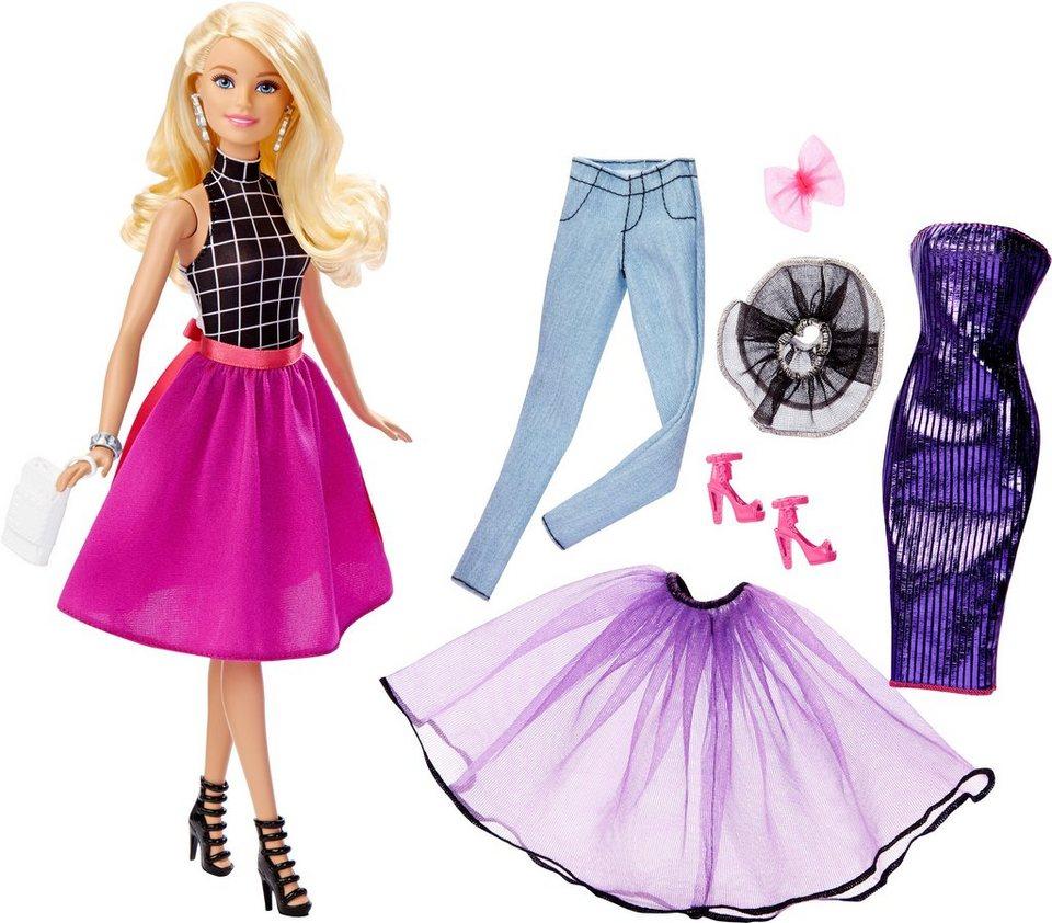 Mattel Puppe »Barbie und Modeset zum Kombinieren«