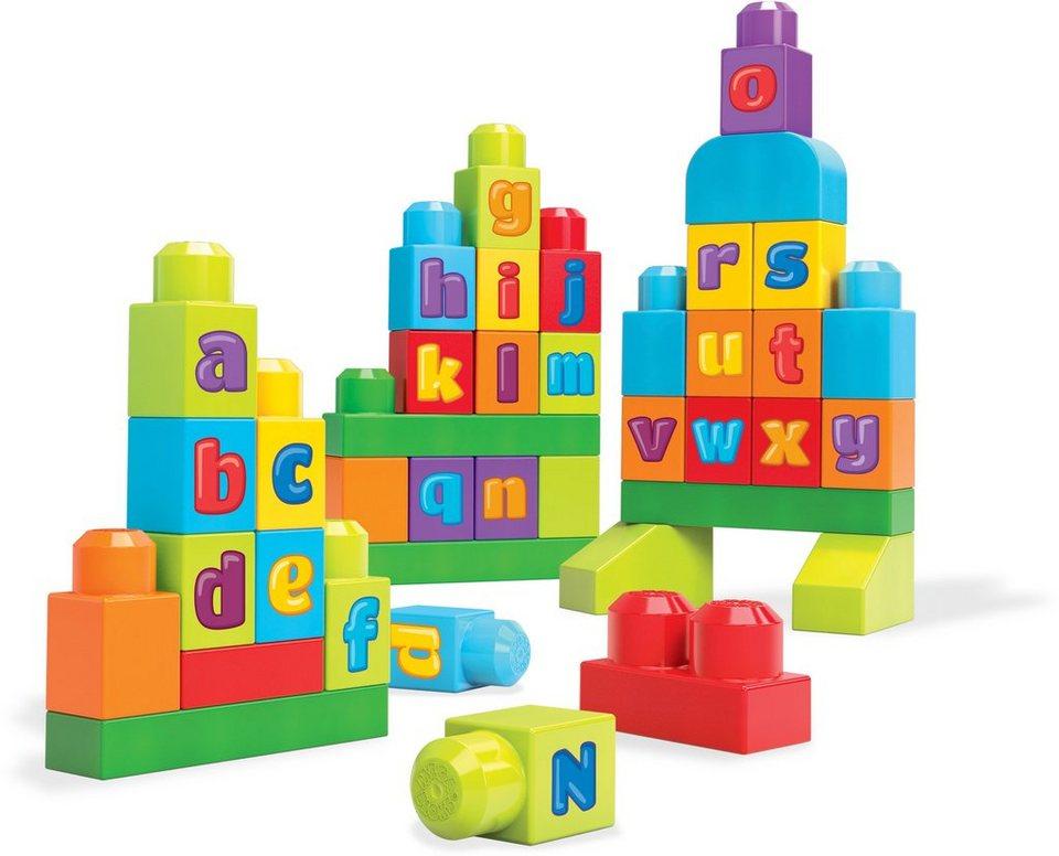 Mattel Lernspielzeug, »Mega Bloks Thementasche ABC Bauhaus«