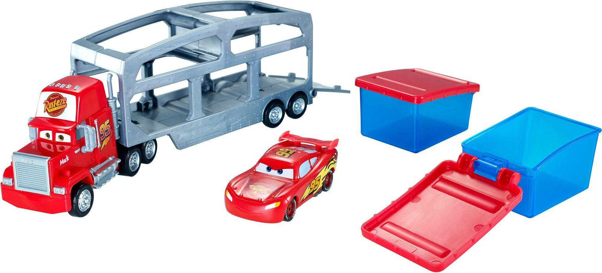 Mattel, Spielzeugautoset, »Disney Pixar Cars Macks Farbwechsel Station«