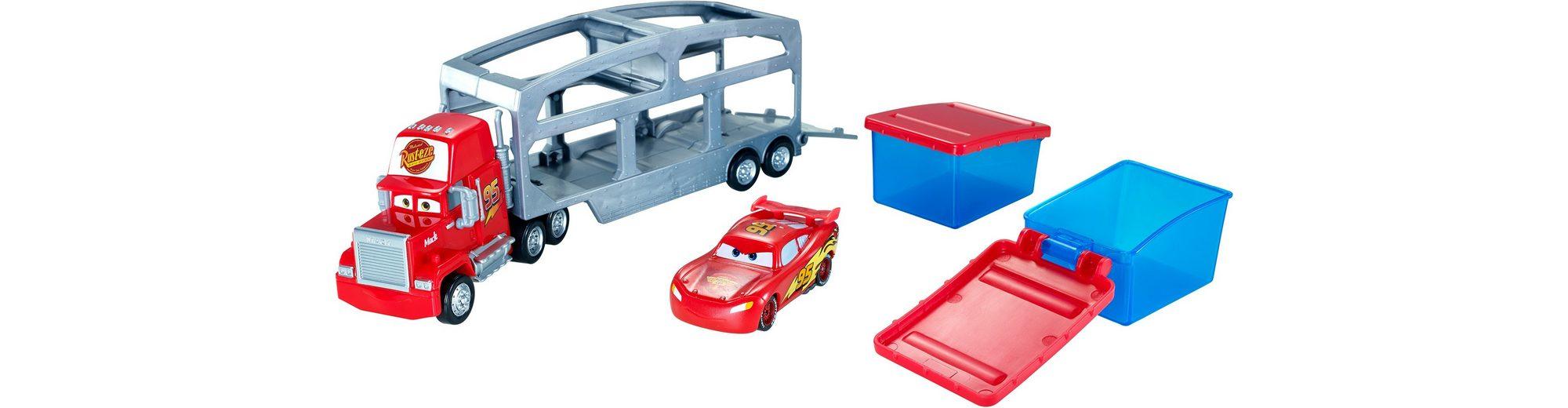 Mattel Spielzeugautoset, »Disney Pixar Cars Macks Farbwechsel Station«