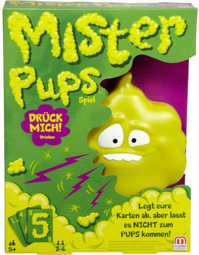 Mattel® Spiel, »Mattel Games - Mister Pups«