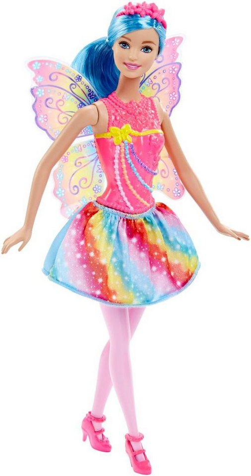 Mattel Puppe mit Flügeln, »Barbie Regenbogen Fee«