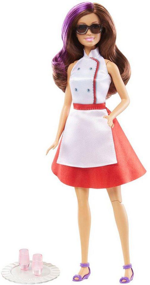 Mattel Puppen mit Drehkick Funktion, »Barbie Das Agententeam - Geheimagentin Teresa«