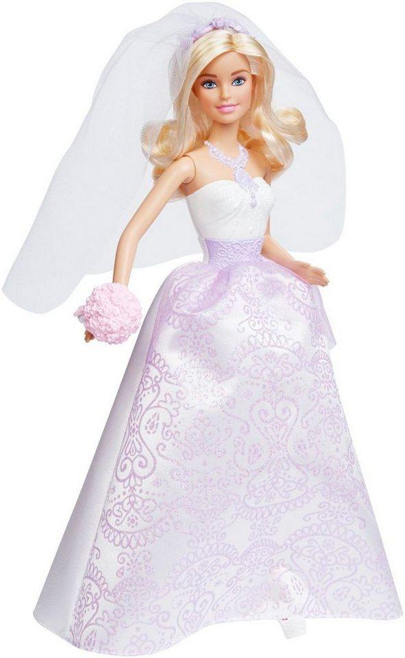 Mattel Puppe mit Hochzeitsaccessoires, »Barbie Braut«