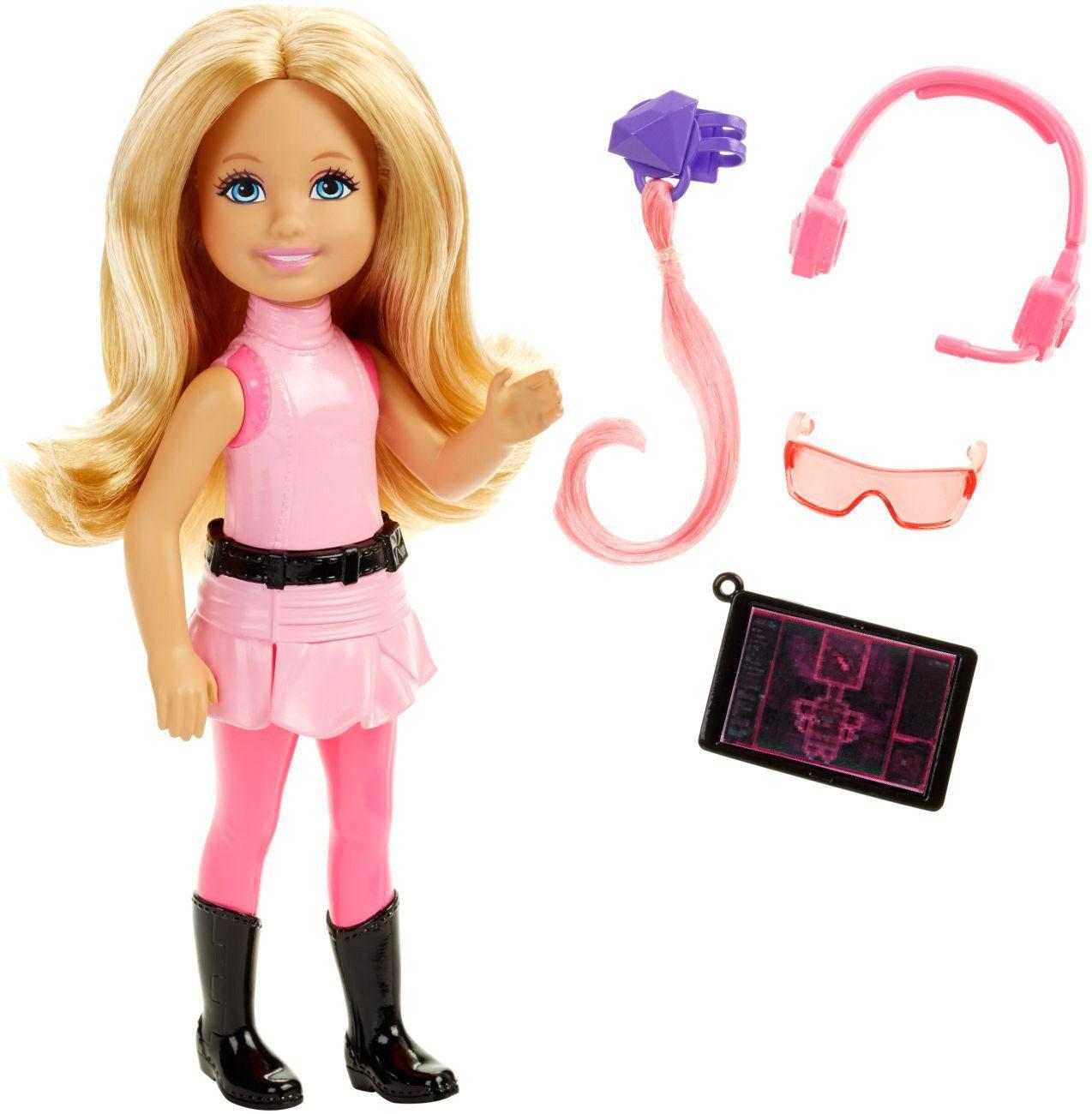 Mattel Puppe mit Kostüm, »Barbie Das Agententeam - Junior Geheimagentin Pink«