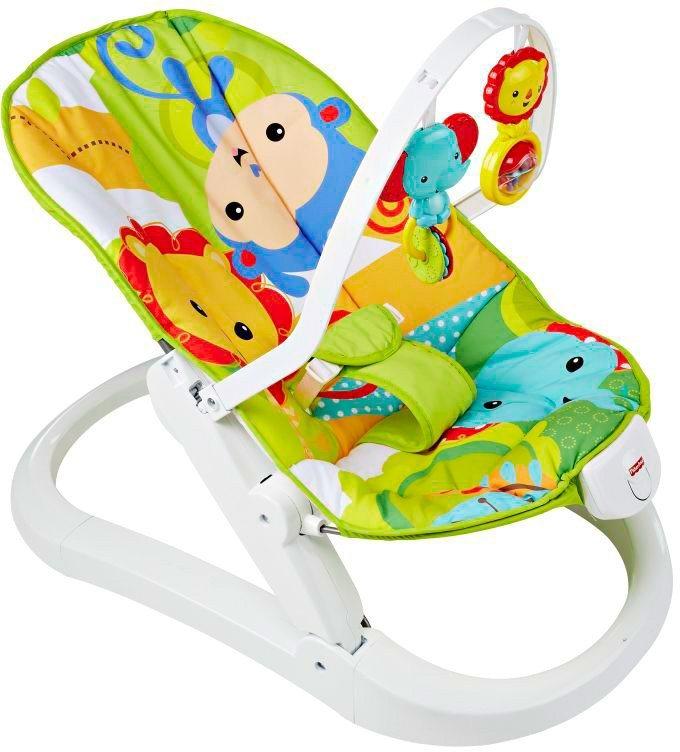 Fisher Price Babysitz, »Rainforest Kompakt Wippe«