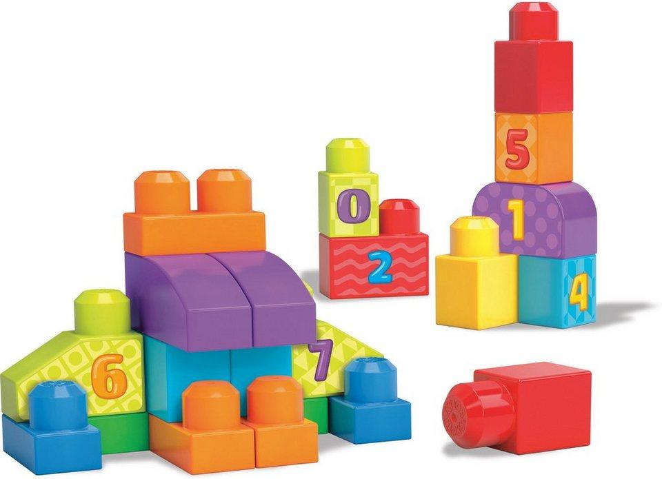 Mattel Bauklotzset, »Mega Bloks 123 Bausteine Zählspaß«