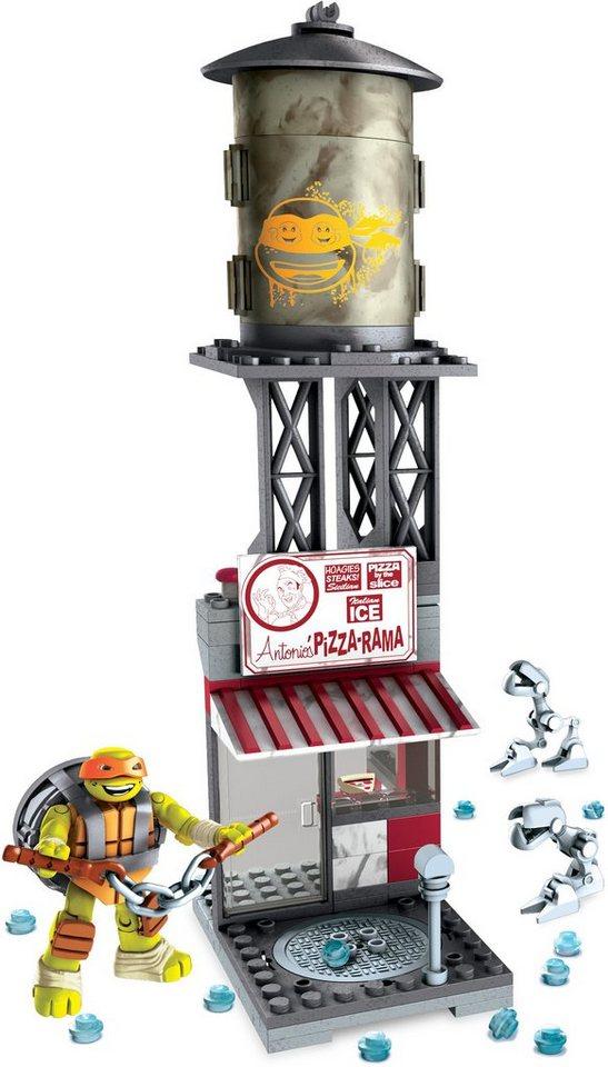 Mattel Spielset, »Mega Bloks Teenage Mutant Ninja Turtles Michelangelos NYC Pizzeria«