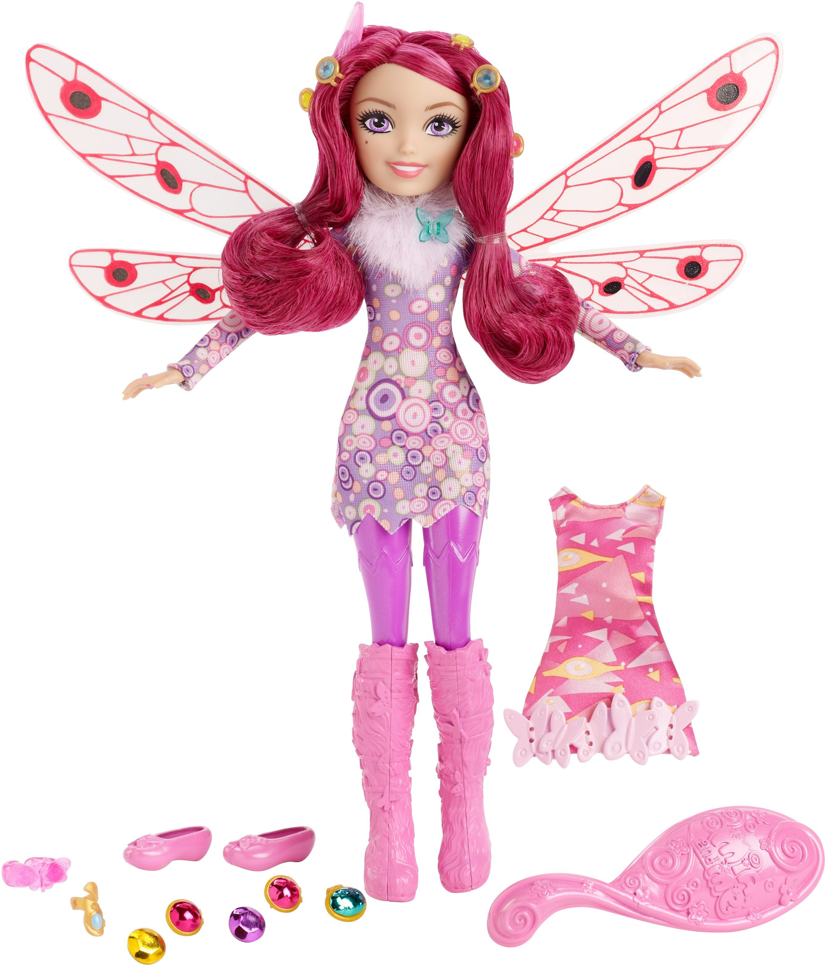 Mattel, Puppe mit 2 Outfits, »Mia and Me Mia Puppe und Moden Set«