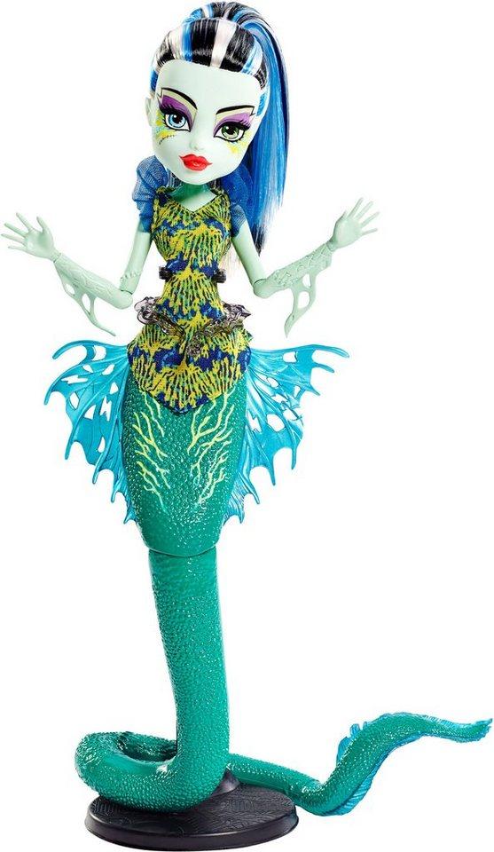 Mattel Puppe, »Monster High Das große Schreckensriff Leuchtende Monsterfische Frankie«