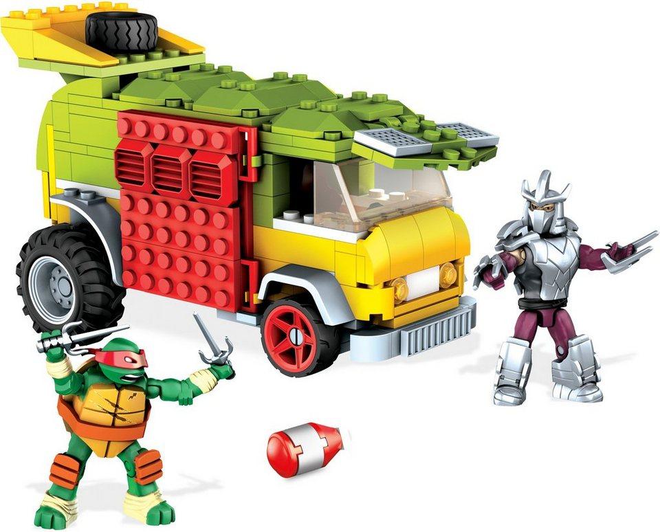 Mattel, Spielfahrzeug, »Mega Bloks Teenage Mutant Ninja Turtles Party Van«