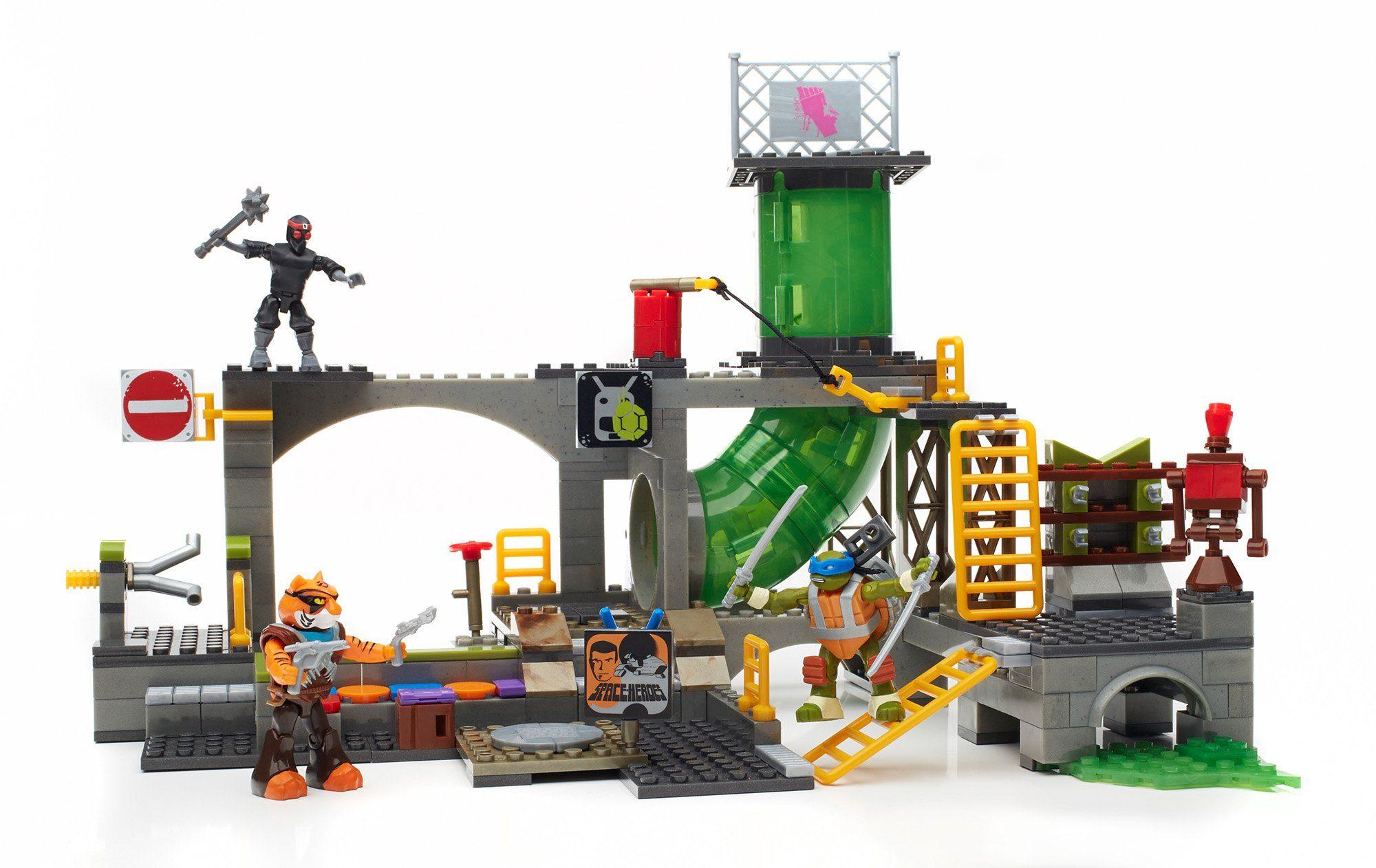 Mattel, Spielwelt, »Mega Bloks Teenage Mutant Ninja Turtles Geheimversteck Spielset«
