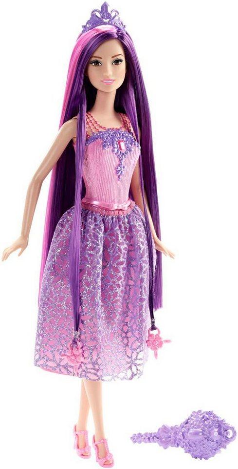 Mattel Puppe zum Frisieren, »Barbie 4 Königreiche Zauberhaar Prinzessin Lila«