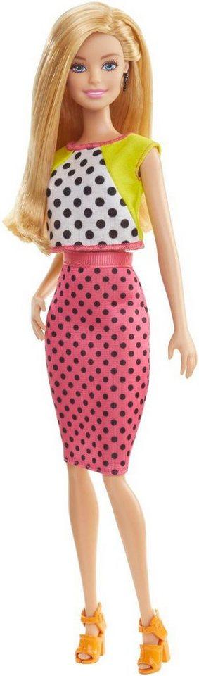 Mattel Stilvolle Puppe, »Barbie Fashionista im Tupfenkleid«