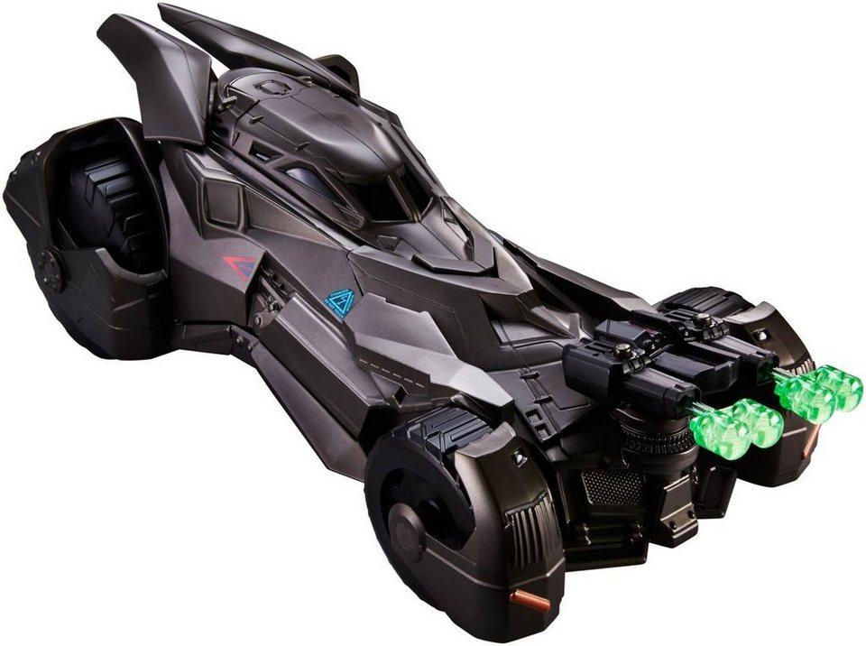 Mattel Spielzeugauto mit Schussvorrichtung, »Batman v Superman Dawn of Justice, Deluxe Batmobil«