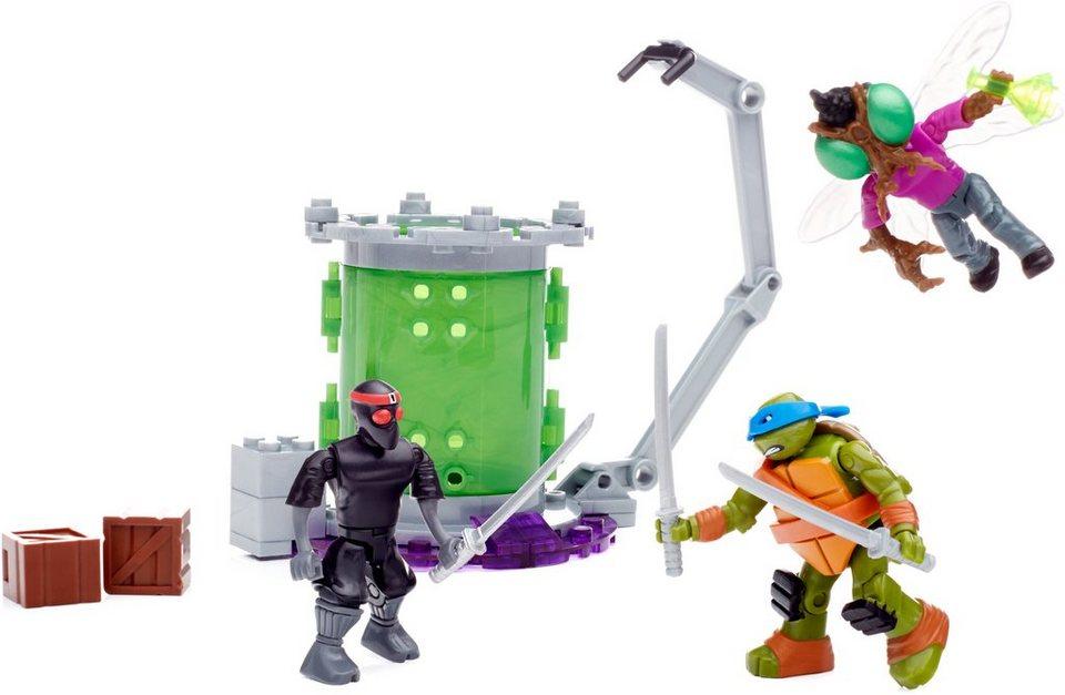 Mattel Spielwelt, »Mega Bloks Teenage Mutant Ninja Turtles Spielset Mutationslabor«