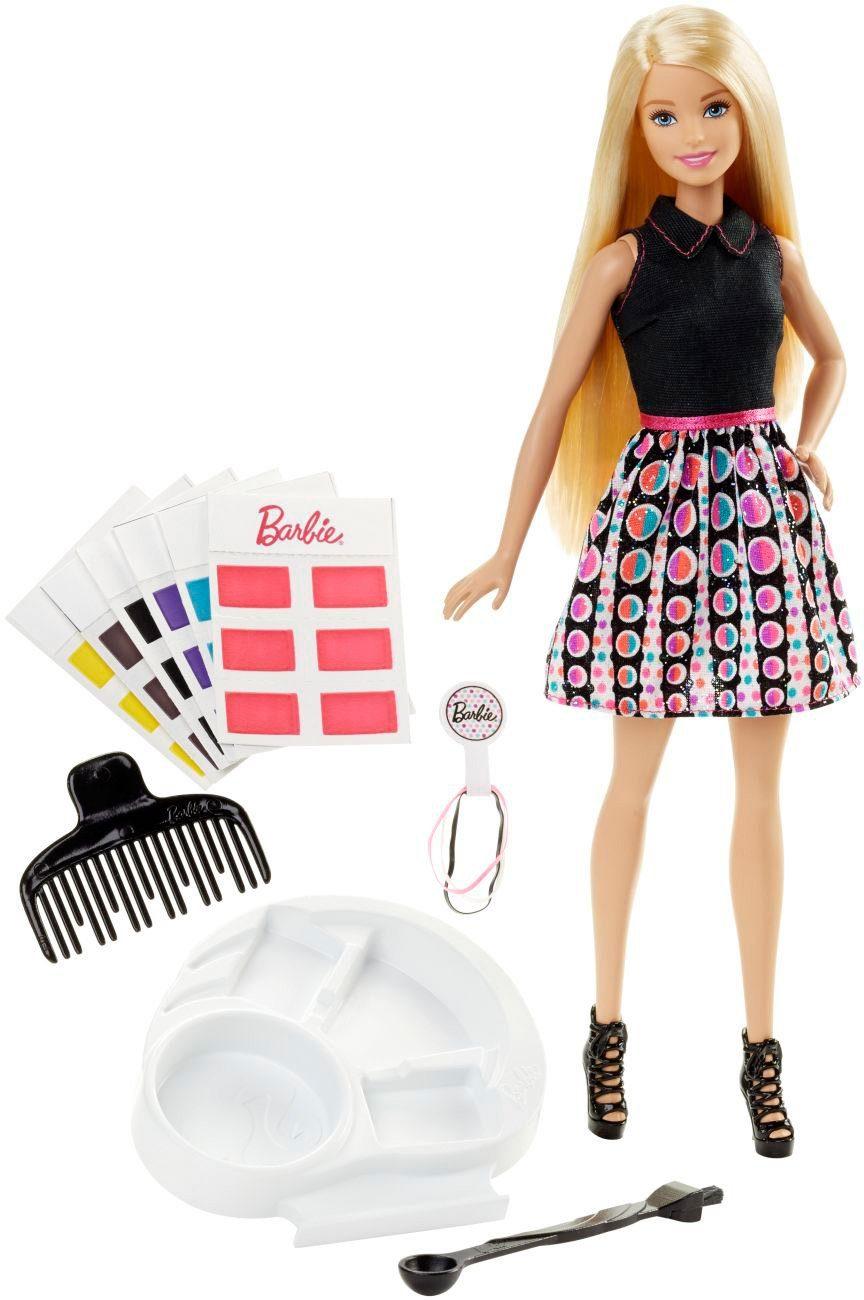 Mattel Puppe mit Zauberhaaren, »Haarfarben Zauber Barbie«