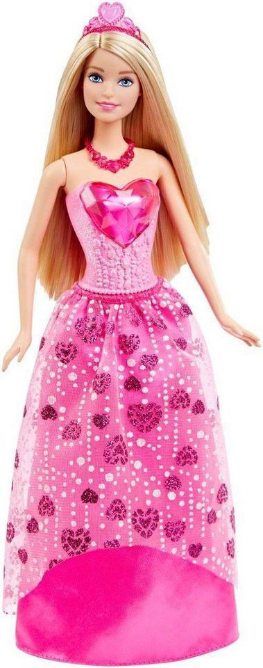 Mattel Puppe mit Zubehör, »Barbie Juwelen Prinzessin«