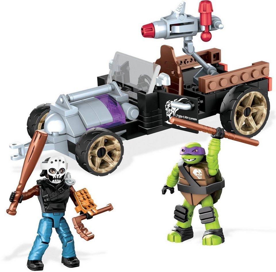 Mattel Spielfahrzeug, »Mega Bloks Teenage Mutant Ninja Turtles Donnies Racer«