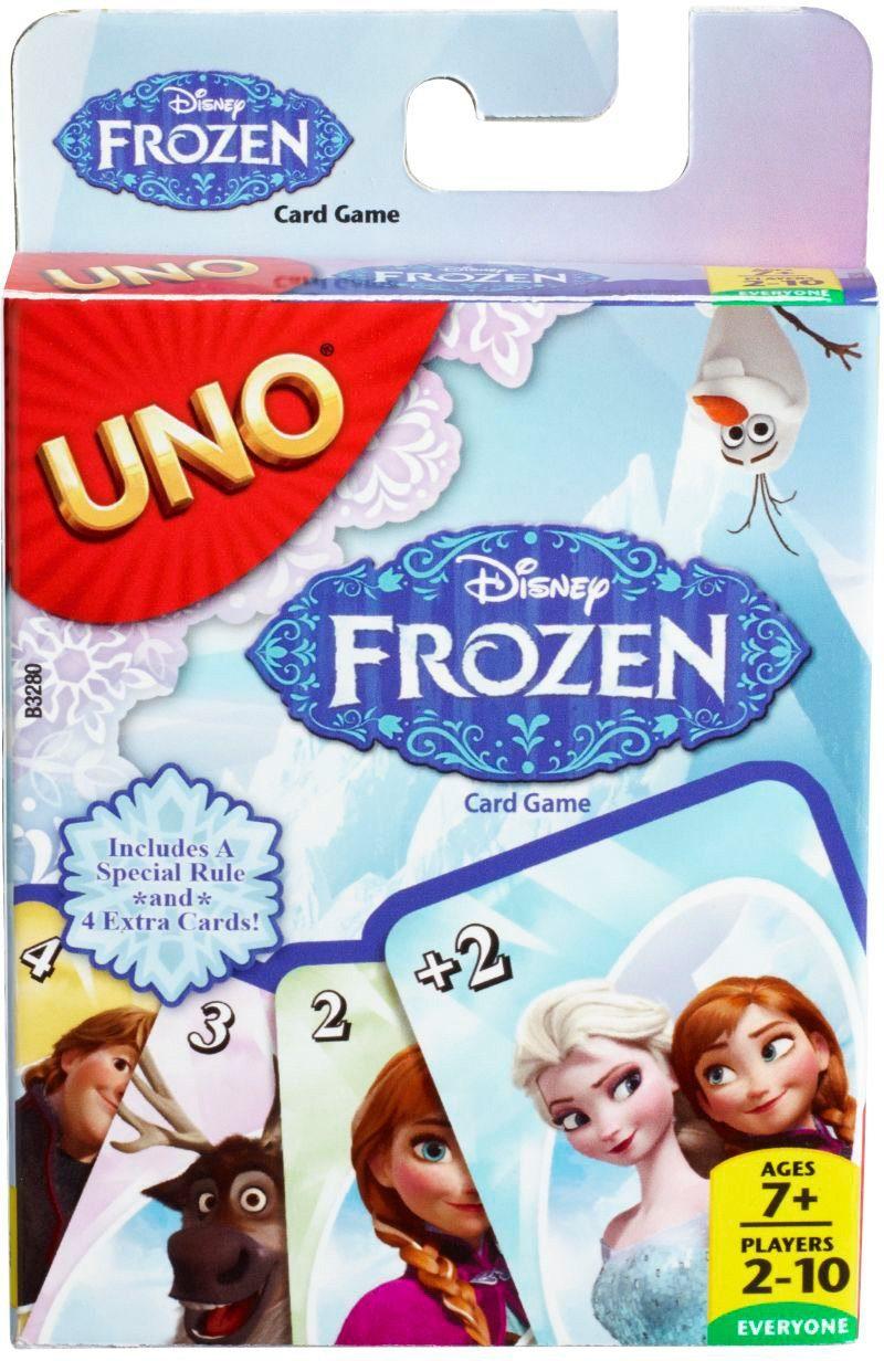 Mattel Kartenspiel, »Mattel Games Frozen UNO«