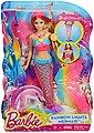 Mattel® Meerjungfrauenpuppe »Barbie Dreamtopia Regenbogenlicht-Meerjungfrau, blond« (Set, Barbie 4 Königreiche), Bild 3