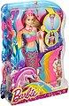 Mattel® Meerjungfrauenpuppe »Barbie Dreamtopia Regenbogenlicht-Meerjungfrau, blond« (Set, Barbie 4 Königreiche), Bild 5