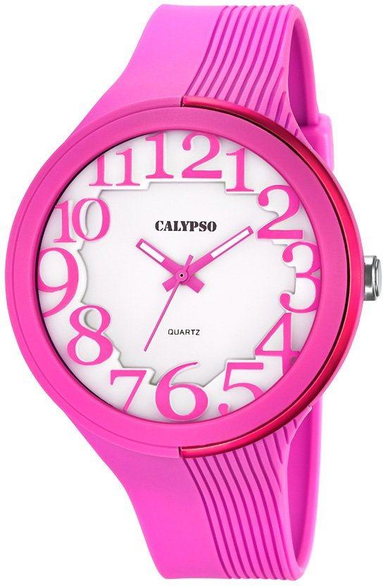 Calypso Armbanduhr, »K5706/2« in pinkfarben