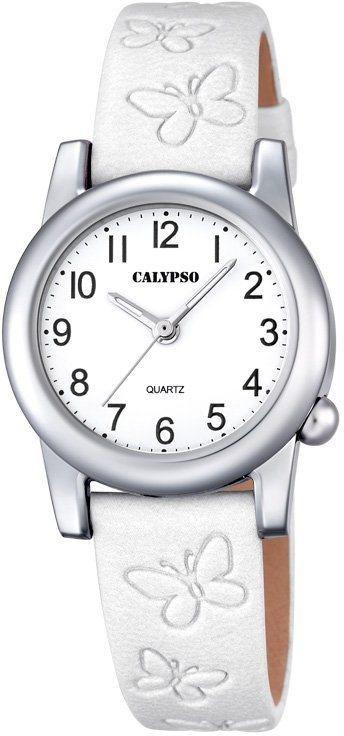 Calypso Armbanduhr, »K5711/1« in weiß
