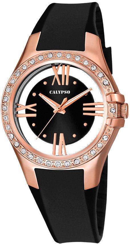 Calypso Armbanduhr, »K5680/4« in schwarz
