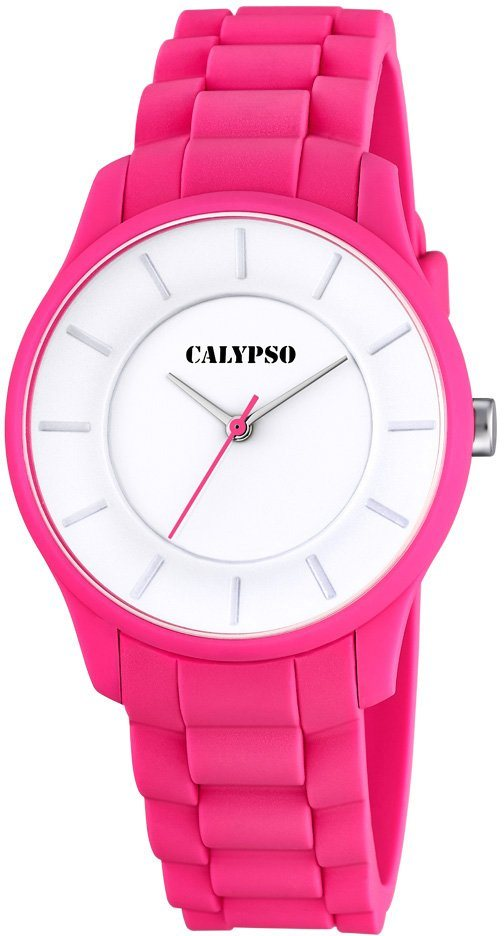 Calypso Armbanduhr, »K5671/4« in pinkfarben