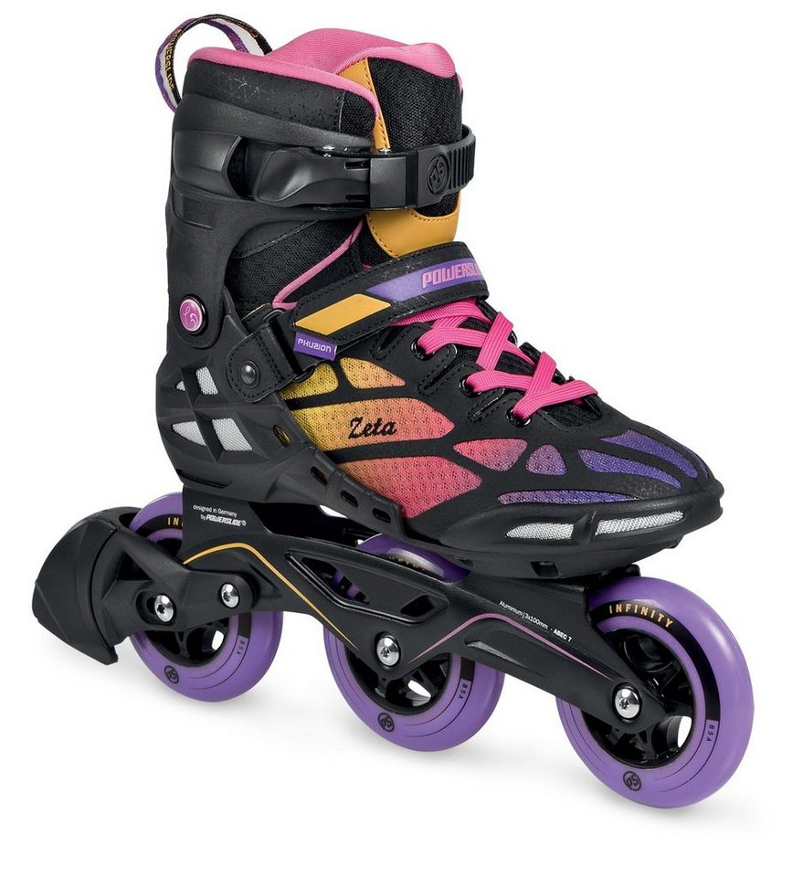Powerslide Inline Skates, Triskates, »Phuzion Zeta Women« in lila-schwarz