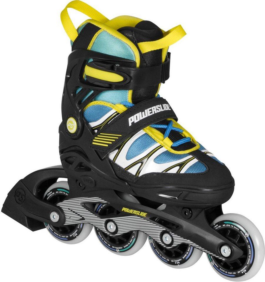 Powerslide Inline Skates, Jungen, gelb-blau, »Phuzion Orbit Kids« in gelb-blau