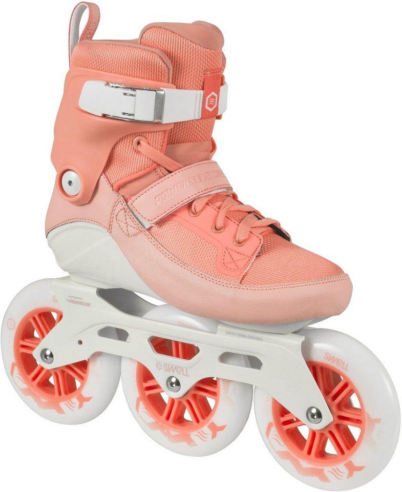 Powerslide Inline Skates, Triskates, »Swell 125 Peach« in rose