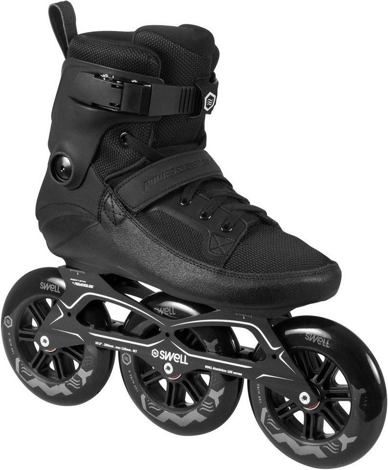 Powerslide Inline Skates, Triskates, »Swell 125 Black« in schwarz