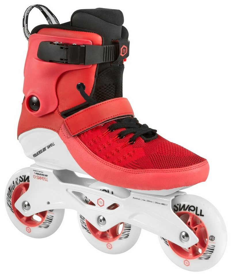 Powerslide Inline Skates, Triskates, »Swell 100 Red« in rot