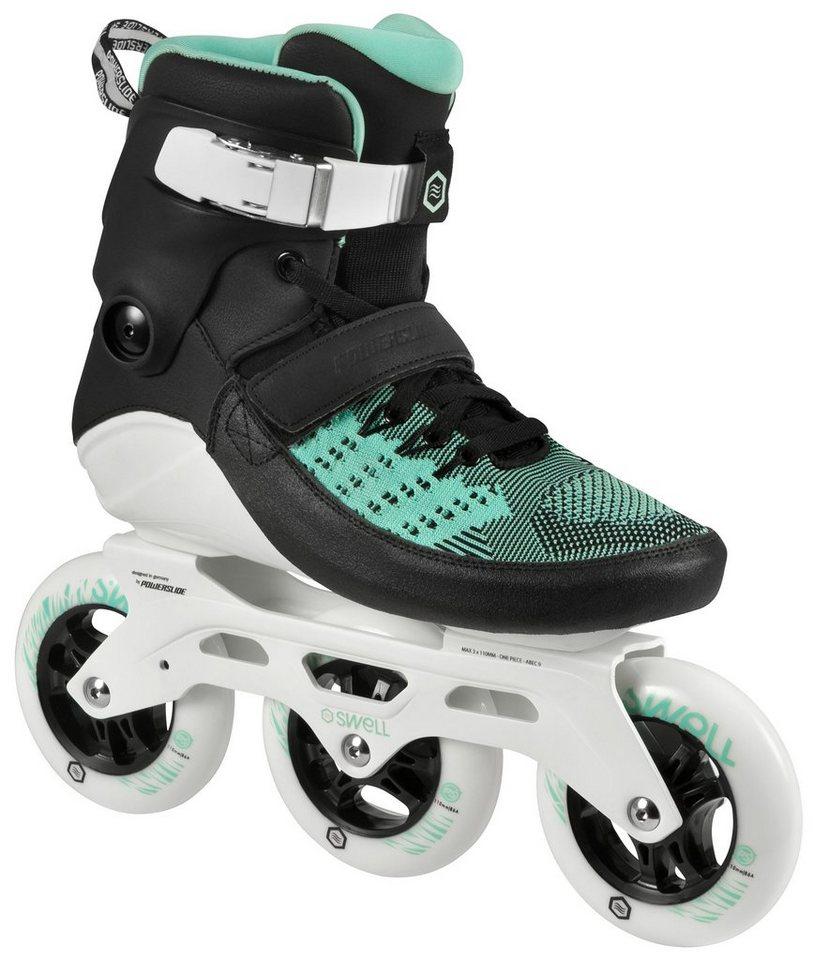 Powerslide Inline Skates, Triskates, »Swell 110 Mint« in schwarz-mint