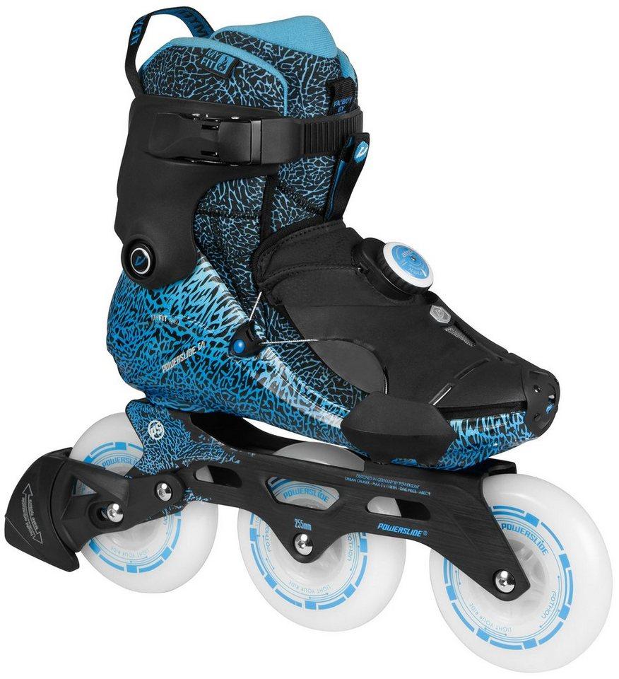 Powerslide Inline Skates, Triskates, »Vi Fothon II« in blau-schwarz