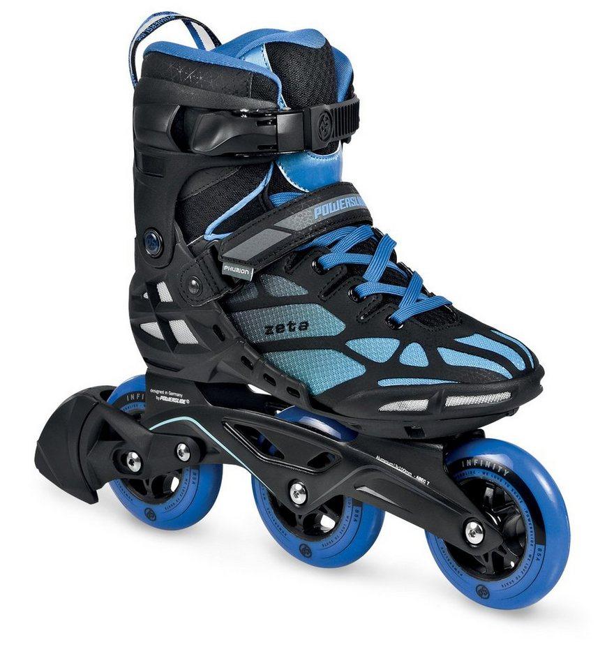 Powerslide Inline Skates, Triskates, Herren, »Phuzion Zeta Men« in blau-schwarz