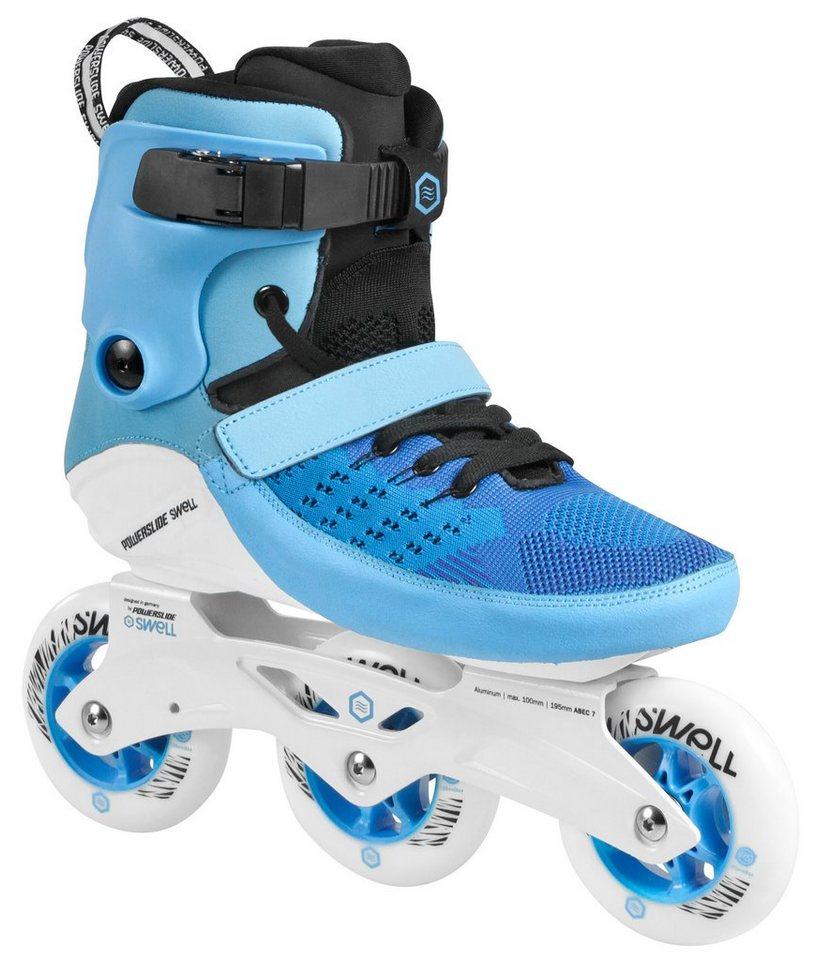 Powerslide Inline Skates, Triskates, »Swell 100 Blue« in blau