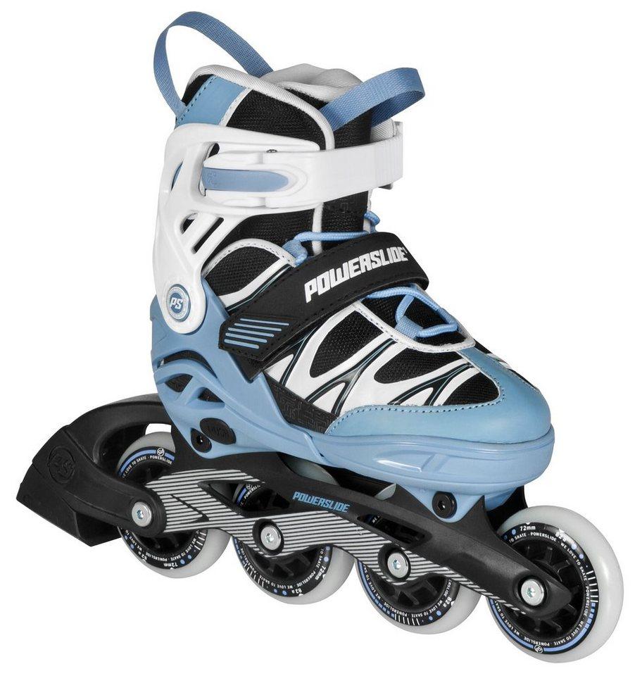 Powerslide Inline Skates, Jungen, Blau-schwarz-weiß