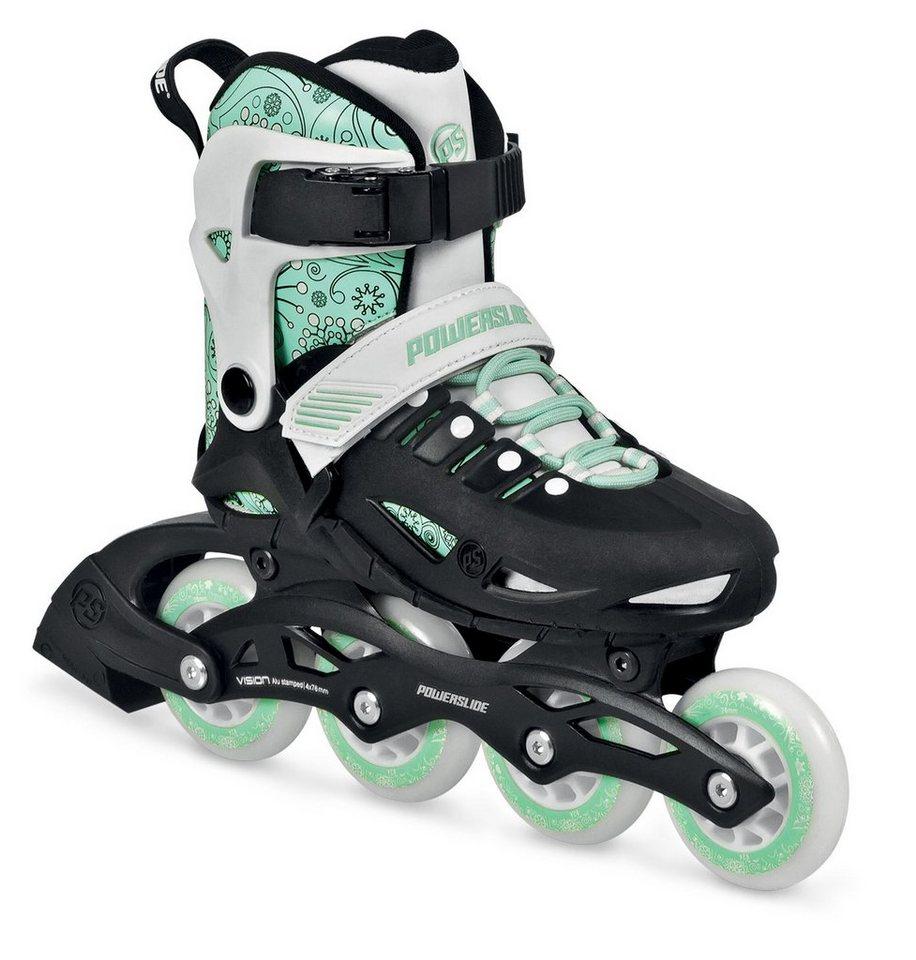 Powerslide Inline Skates, Mädchen, weiß-mint, »Phuzion Universe Kids« in weiß-mint