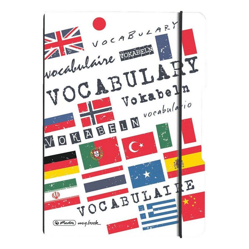 Herlitz Notizheft my.book flex »Vokabeln«