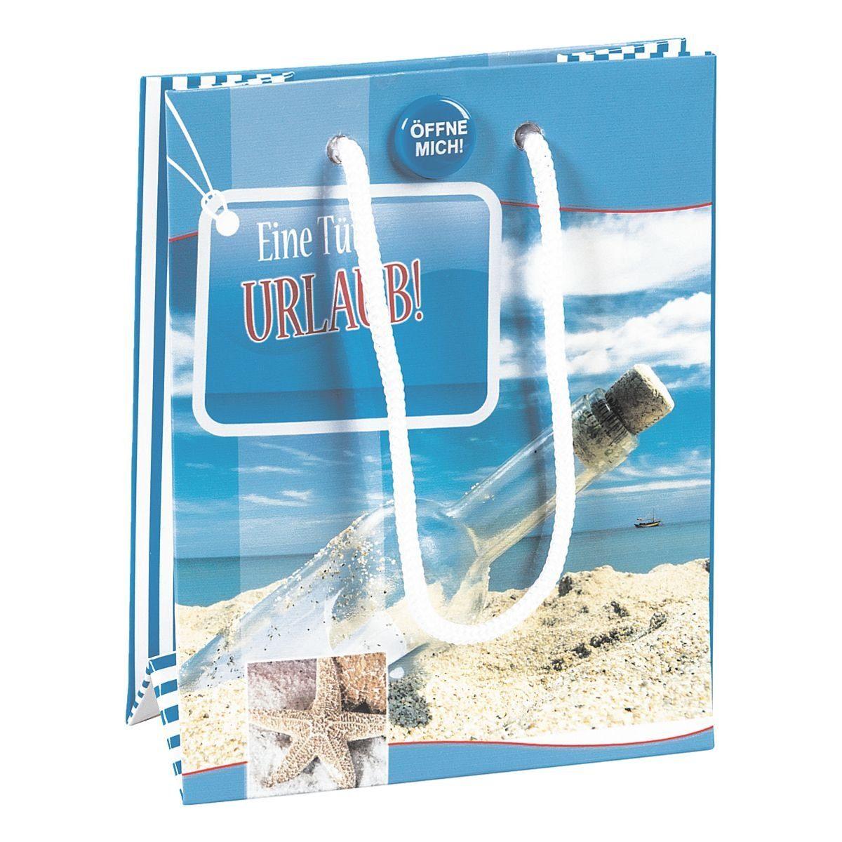 Brunnen Geschenktasche mit Sound »Eine Tüte Urlaub«