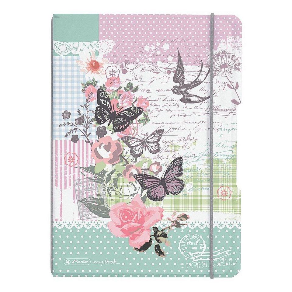 Herlitz Notizheft my.book flex »Ladylike Butterfly«
