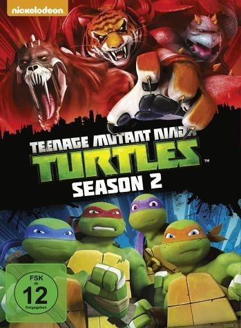 DVD »Teenage Mutant Ninja Turtles - Season 2 (4 Discs)«