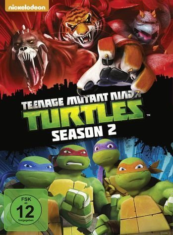 DVD »Teenage Mutant Ninja Turtles - Season 2 (4 Discs)«