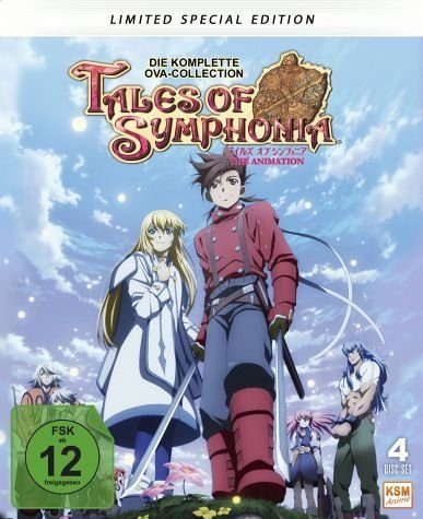 Blu-ray »Tales of Symphonia (Limited Special Edition, 4...«