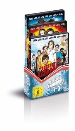 DVD »Vorstadtkrokodile 1-3«
