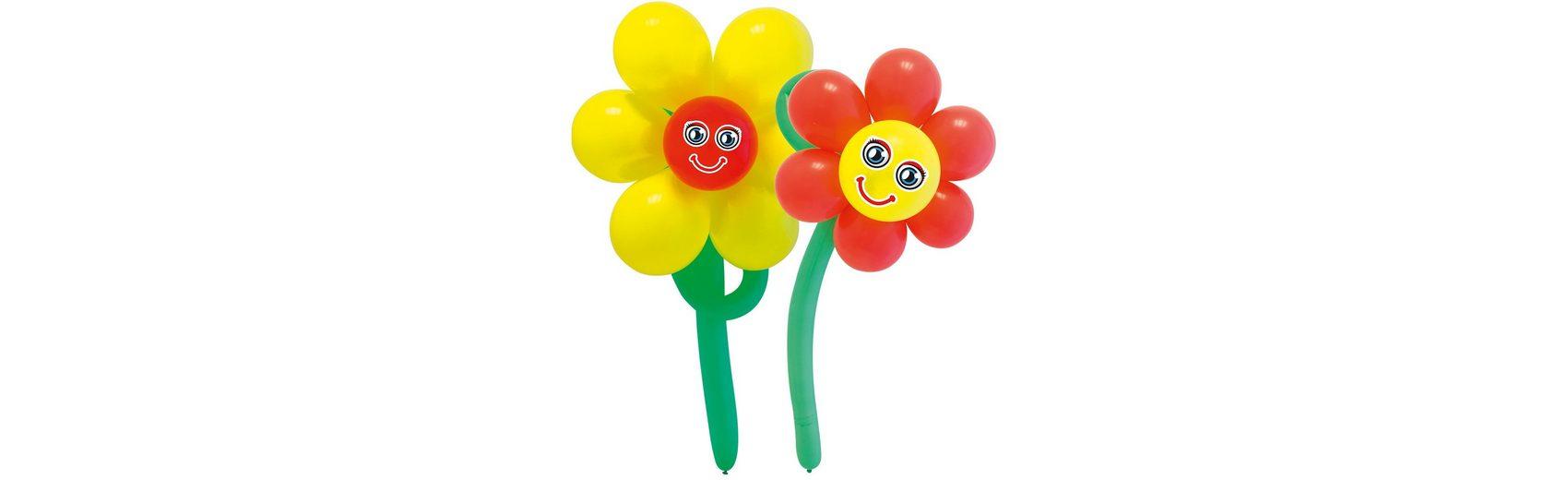 Luftballonsbastelset Blumen